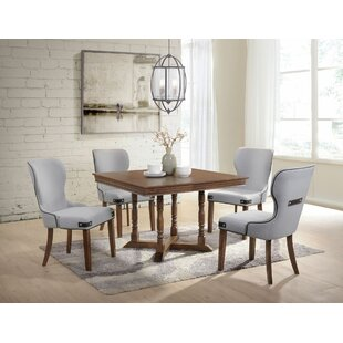 Pafford 5 Pieces Dining Set