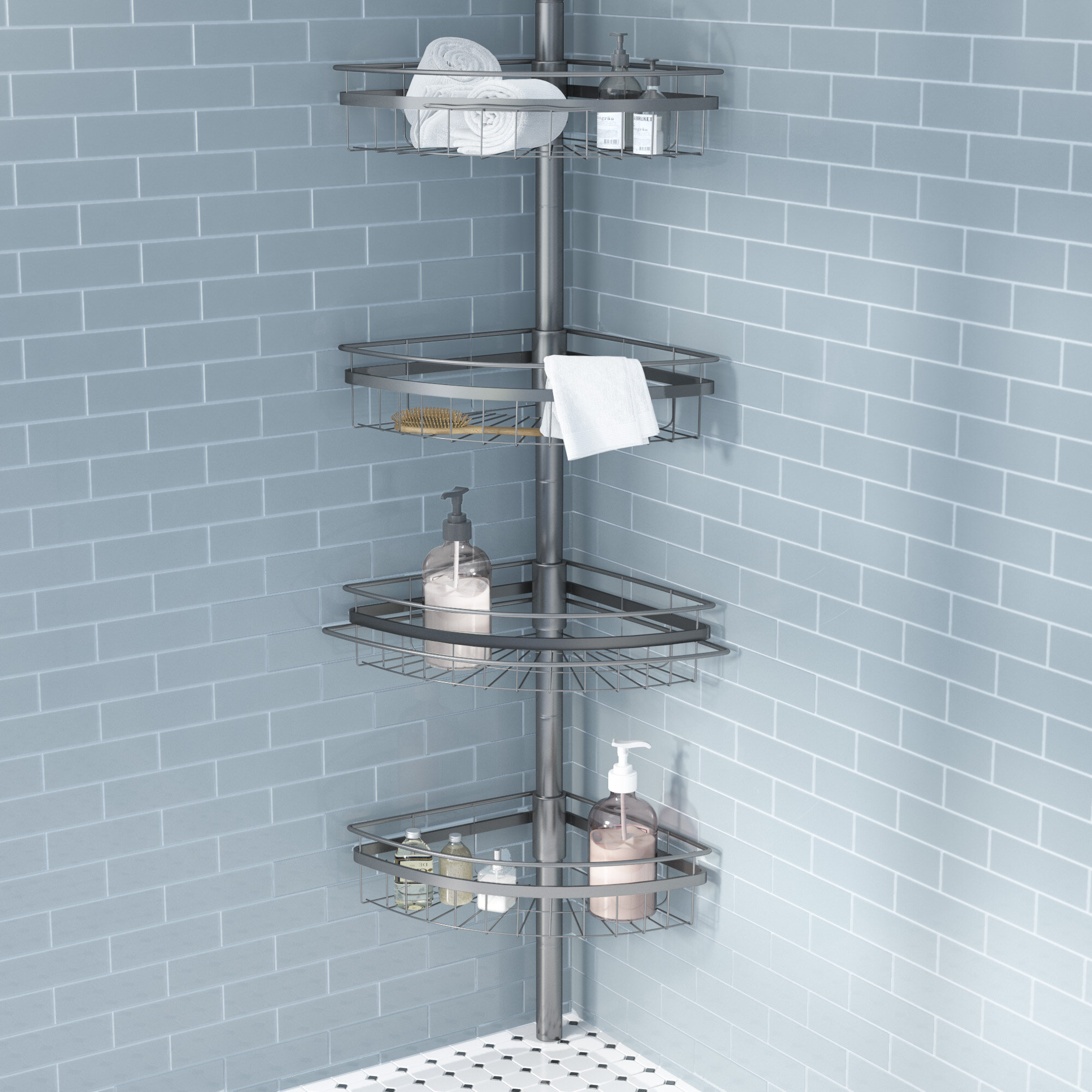 Andover Mills Merriwood Shower Caddy & Reviews | Wayfair