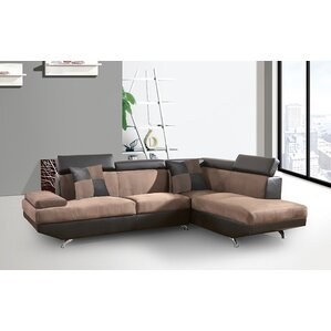 Fabric Sectional by BestMasterFurniture