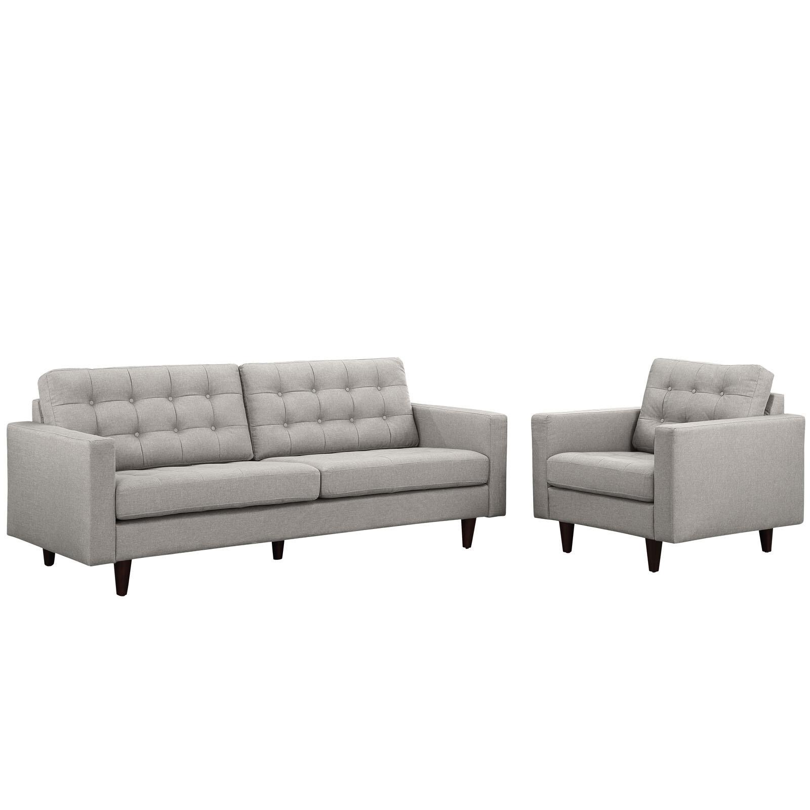 Modway Princess 2 Piece Living Room Set & Reviews