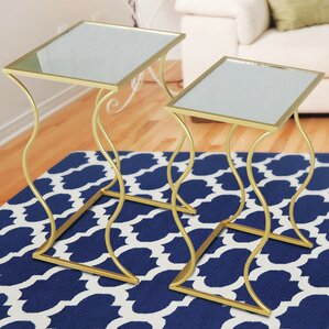 Perth 2 Piece Nesting Table by House o..