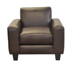 Columbia Genuine Top Grain Leather Club Chair