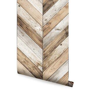 Ansel Chevron 4 L X 24 W And Stick Wallpaper Roll