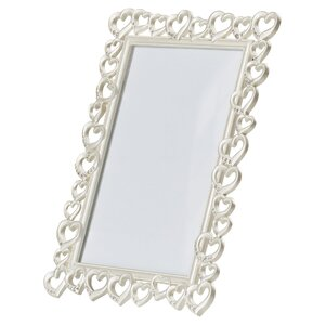 Silver Hearts Picture Frame
