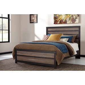 Arjun Panel Bed by Mercury Row