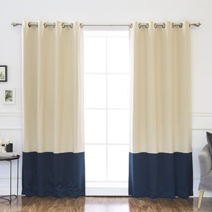 Blue and beige curtains wayfair save solutioingenieria Image collections
