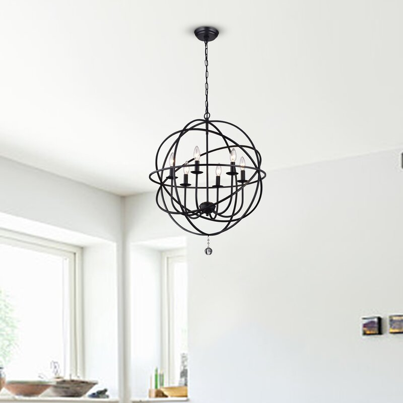 Eastbourne 6-Light Chandelier & Reviews