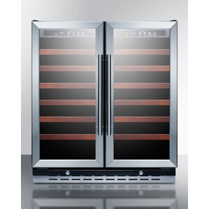 Summit 30-inch 66 Bottle Dual Zone Built-In Wine Cooler by Summit Appliance