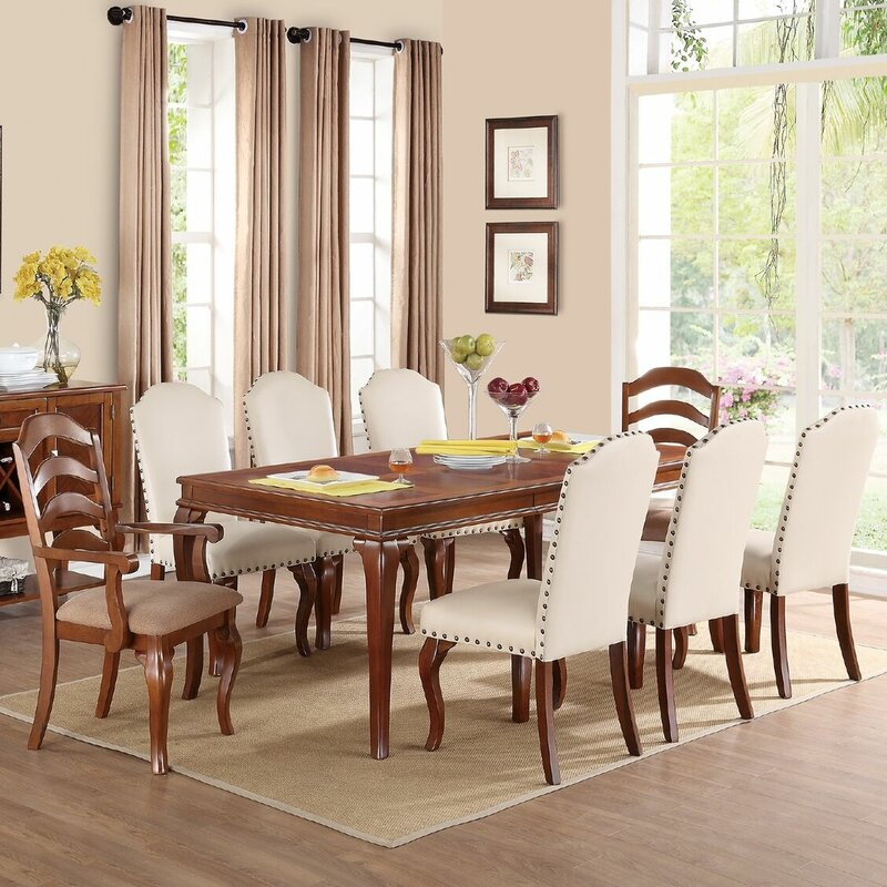 Infini Furnishings Flavien II 9 Piece Dining Set & Reviews