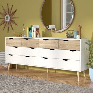 Mateer 8 Drawer Dresser