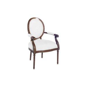 Farmhouse Fabric Side Chair by Paula D..