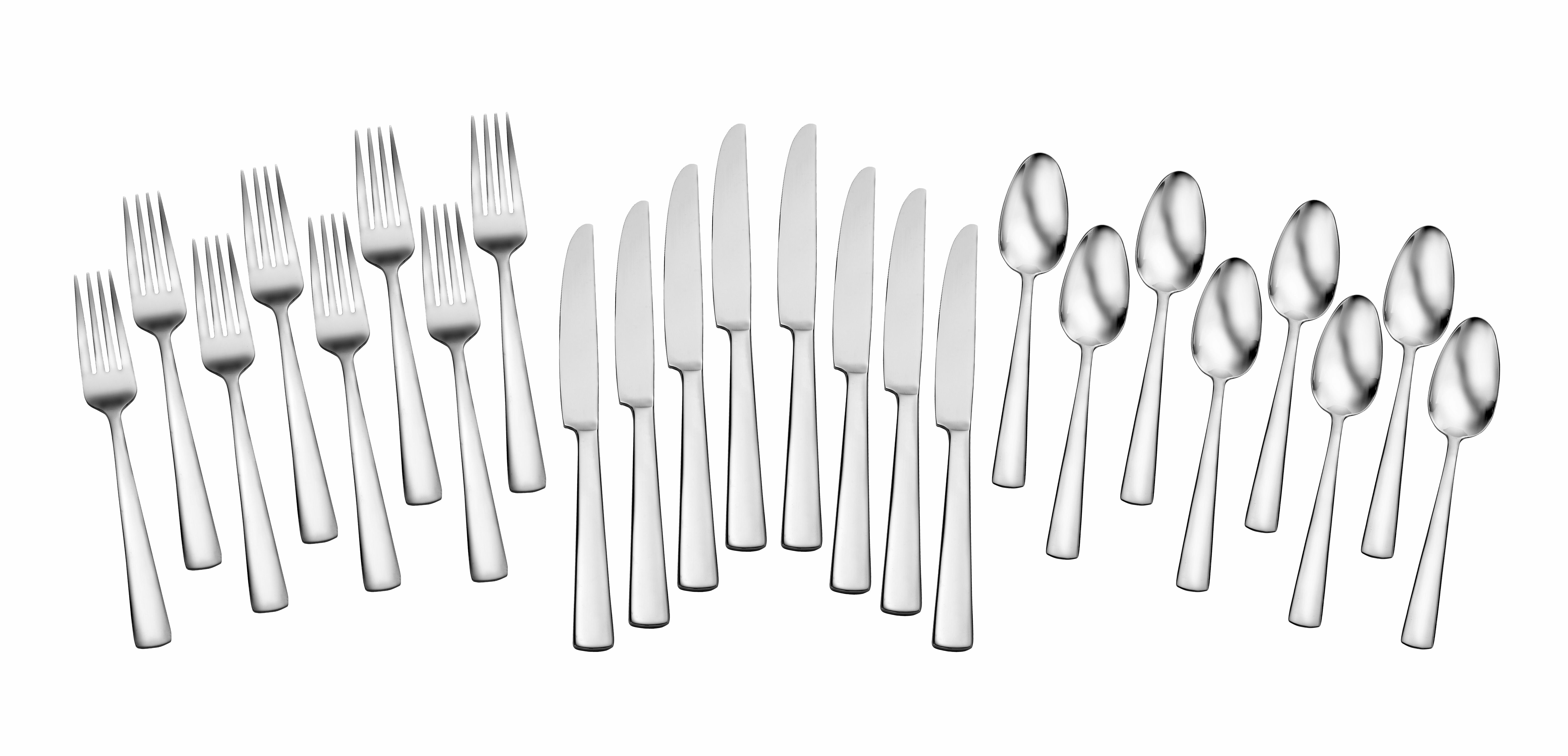 sc 1 st  Wayfair & Oneida Chefu0027s Table Dining 24 Piece Flatware Set u0026 Reviews | Wayfair