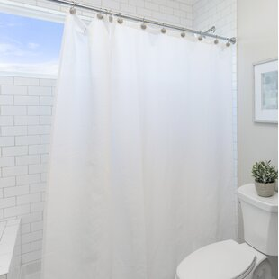 Wayfair Basics Vinyl Shower Curtain Liner