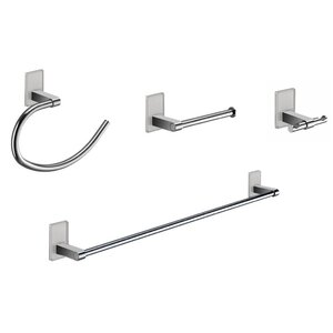 Maine 4 Piece Bathroom Hardware Set