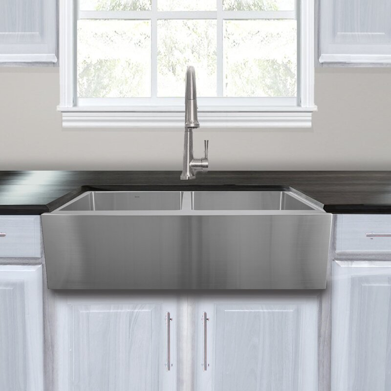 Kitchen Sink Grid Stainless Steel Nantucket sinks pro series stainless steel 33 x 22 double basin pro series stainless steel 33 x 22 double basin farmhouse kitchen sink with grid workwithnaturefo
