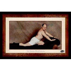 u0027george costanza the timeless art of framed print u0027