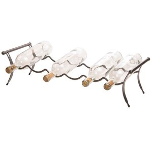 Naudain 6 Bottle Tabletop Wine Rack by Varick Gallery