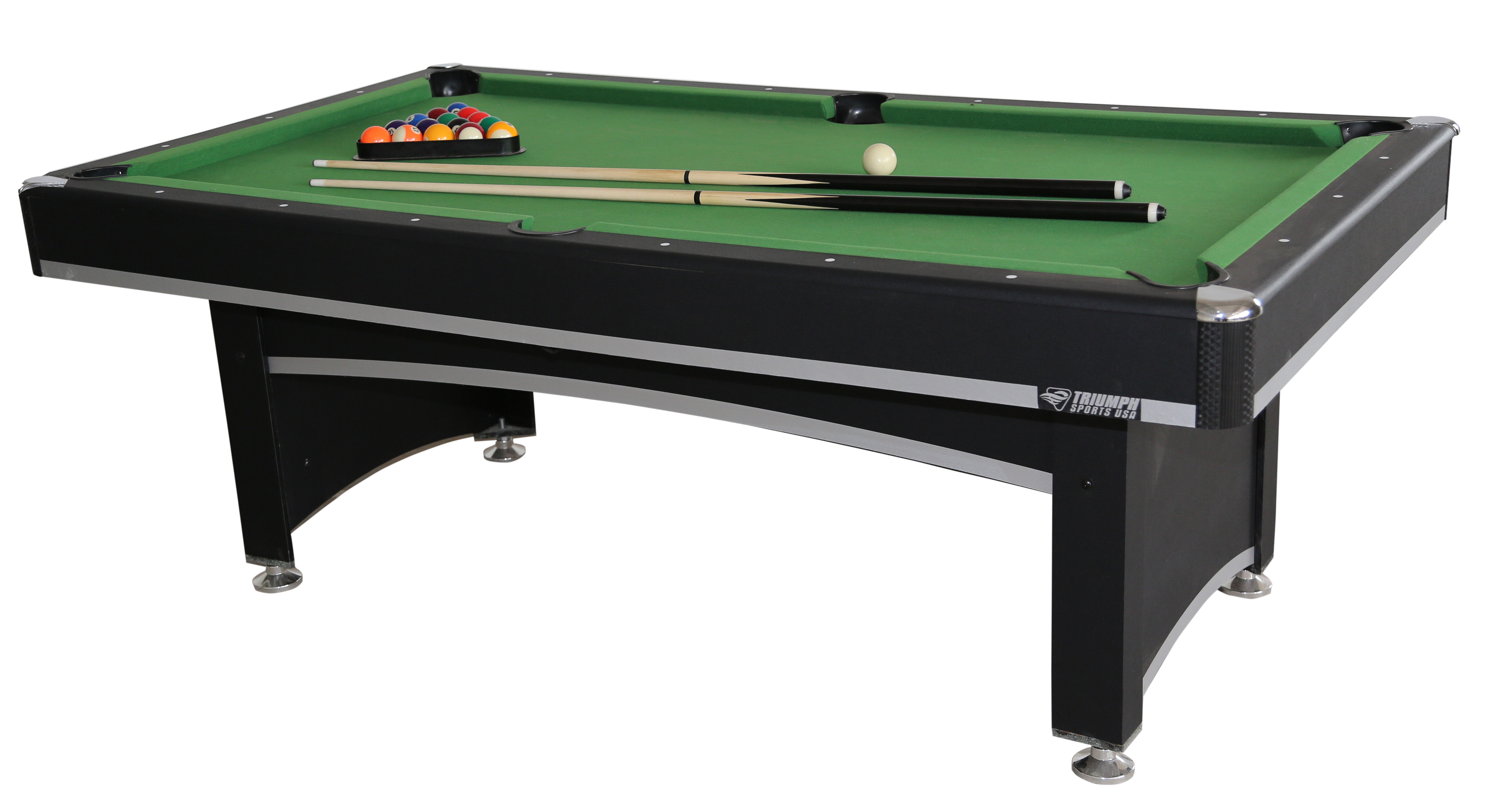Triumph Sports USA Phoenix Billiard Table With Table Tennis Top - Table tennis and billiards table