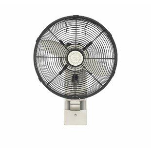 Oscillating Wall Mounted Fan