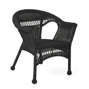 Black Wicker Patio Lounge Chairs Youu0027ll Love | Wayfair