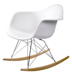 Breana White Rocking Chair (Set of 2) by Brayden Studio