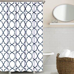 Prattsburgh Cotton Single Shower Curtain