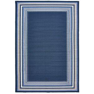 Hadiya Navy Blue Indoor/Outdoor Area Rug