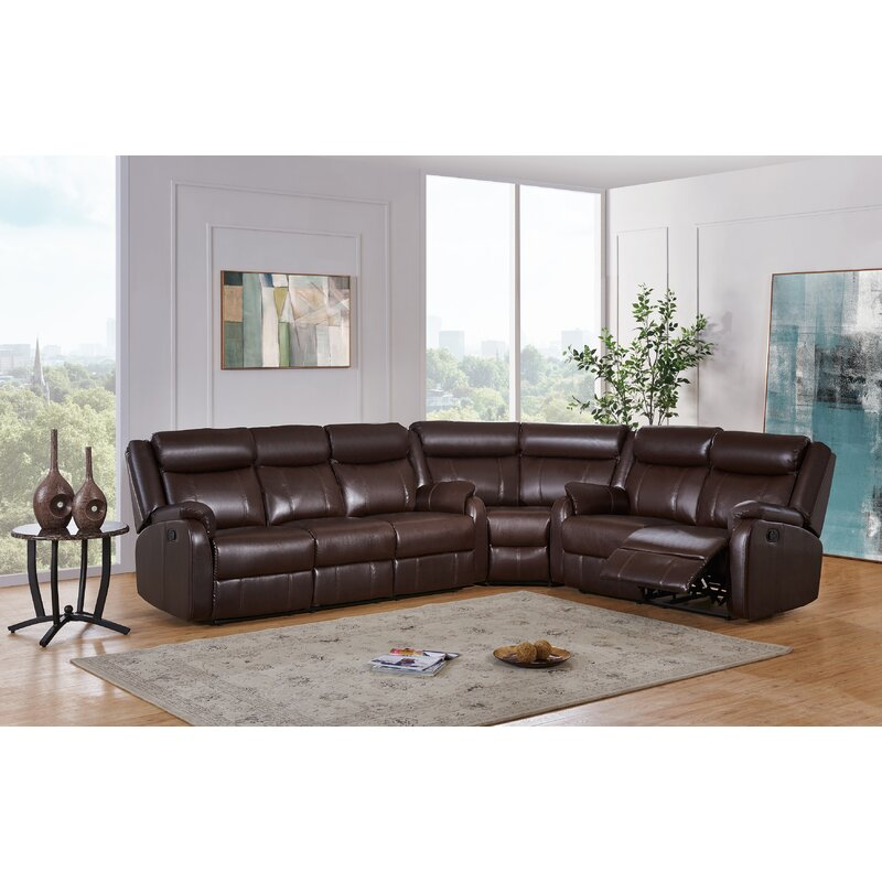 Global Furniture Usa Reclining Sectional Wayfair