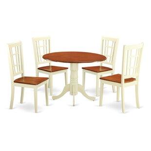 Spruill 5 Piece Dining Set