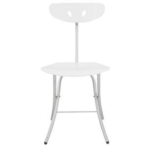 High Gloss Metal Folding Chair (Set Of 2)