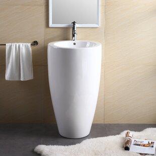 Pedestal For Bathroom Sink. Save Fine Fixtures Vitreous China 20 Pedestal Bathroom Sink