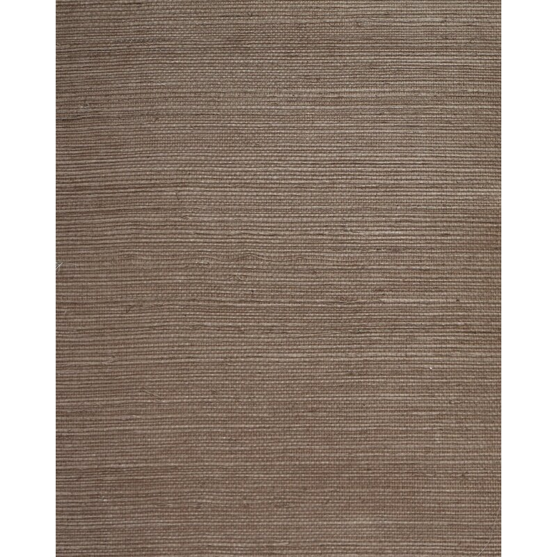 """17 Stories Cosmo 24 L x 36"""" W Plain Sisals Wallpaper Roll  Color: Taupe"""