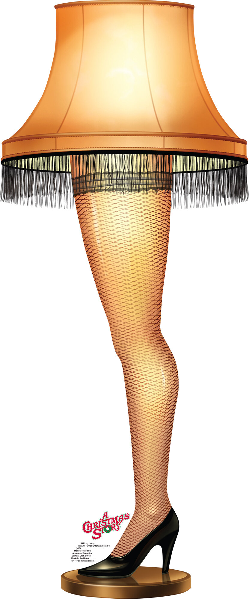 Advanced Graphics Leg Lamp - A Christmas Story Cardboard Stand-Up ...