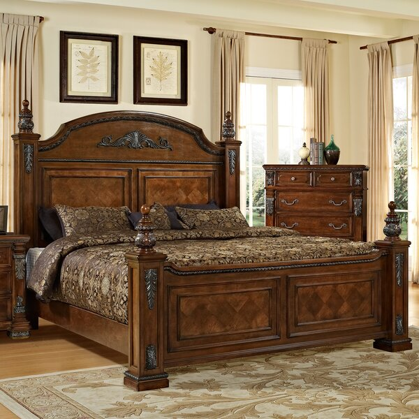 fairfax home collections orleans panel bed reviews. Black Bedroom Furniture Sets. Home Design Ideas