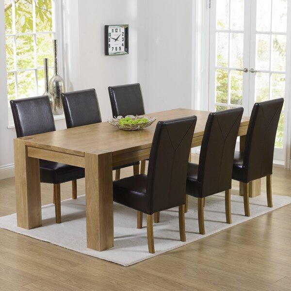home etc essgruppe barrow mit 6 st hlen bewertungen. Black Bedroom Furniture Sets. Home Design Ideas