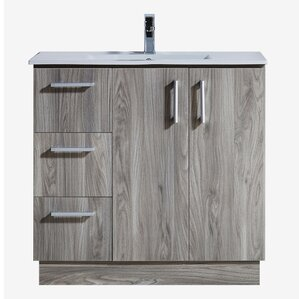 Elegant Medium Wood Bathroom Vanities Youu0027ll Love | Wayfair