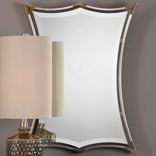 brushed nickel mirror. Brushed Nickel Framed Accent Mirror