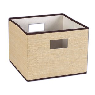 df4fecab5e4 12x12 Wicker Storage Cube Bins