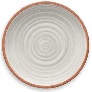 Rustic Swirl Melamine Dinner Plate (Set of 6)  sc 1 st  Wayfair & Acrylic u0026 Melamine Plates u0026 Saucers Youu0027ll Love | Wayfair