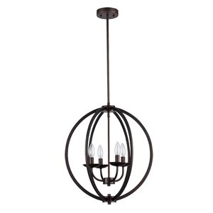 Bouvet 4-Light Foyer Pendant