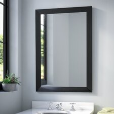 Rectangular Wall Mirror modern rectangle wall mirrors | allmodern
