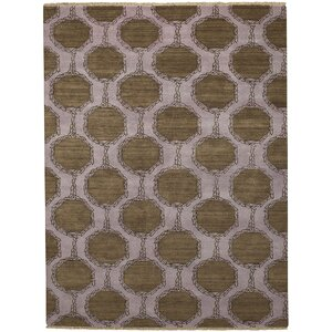 Penny Tawny Trellis Brown/Purple Area Rug
