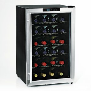 28 Bottle Silent Series Freestanding Wine Cooler by Wine Enthusiast