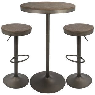 Chambord 3 Piece Pub Table Set