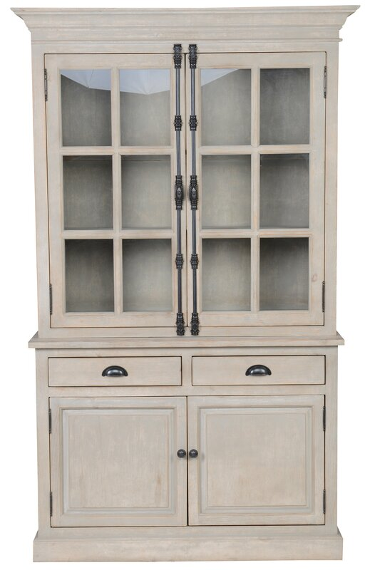 Laurel Foundry Modern Farmhouse Nettie China Cabinet ...