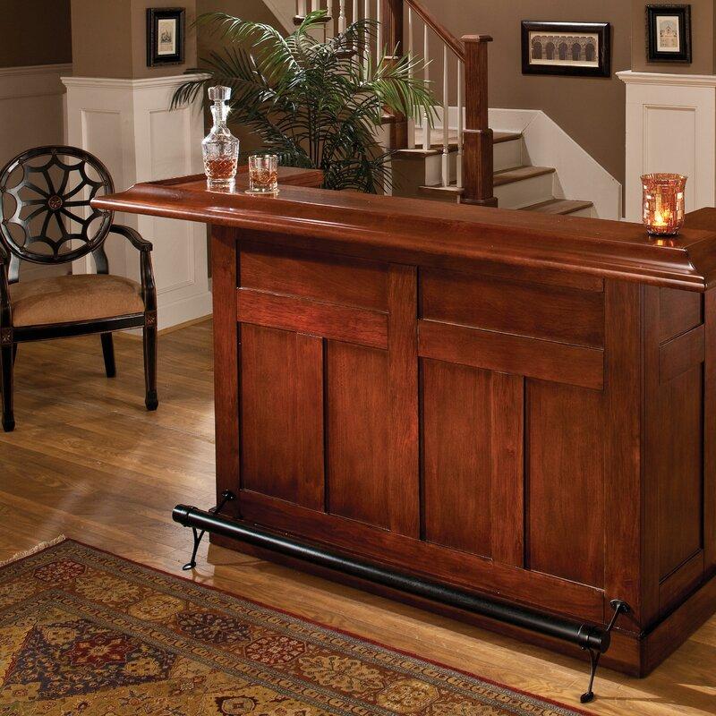 Darby Home Co Potomac Bar With Wine Storage U0026 Reviews | Wayfair