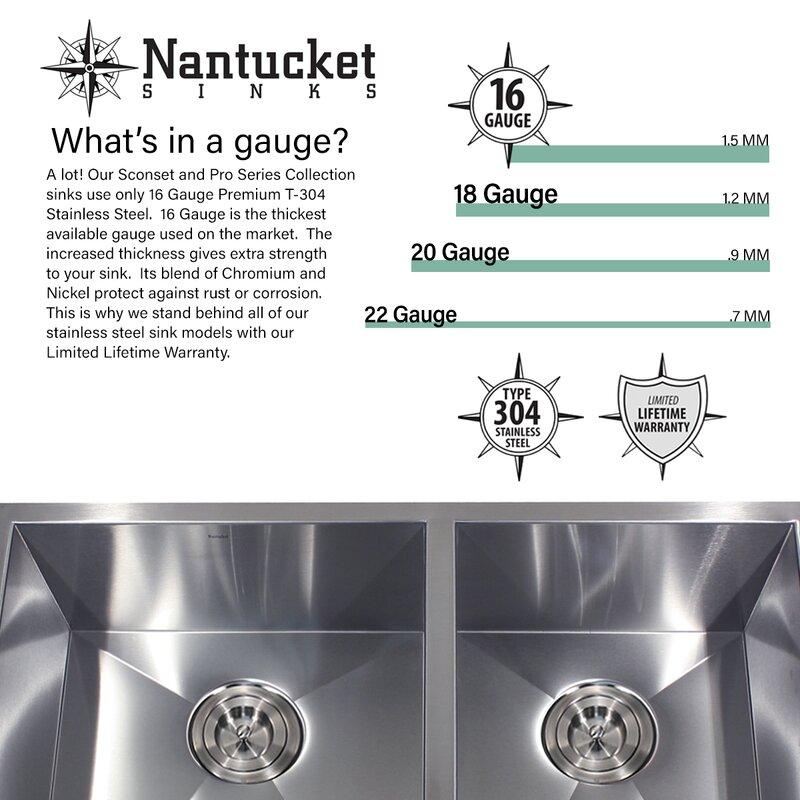 pro series 32   x 20   undermount kitchen sink pro series 32   x 20   undermount kitchen sink  u0026 reviews   allmodern  rh   allmodern com