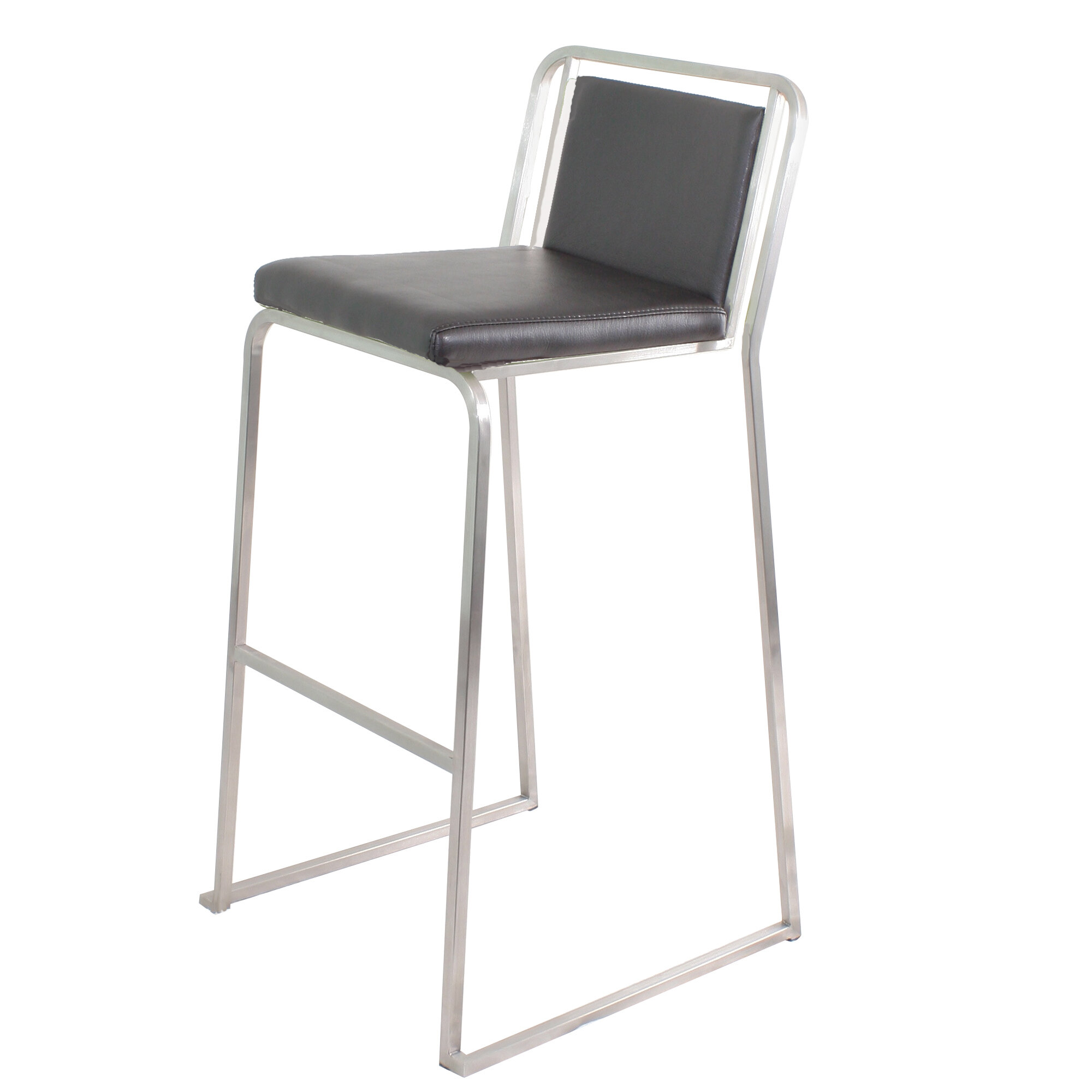 Brayden Studio Loftis 29 5 Quot Bar Stool Amp Reviews Wayfair
