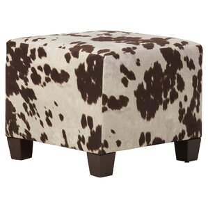 Connie Upholstered Cube Ottoman by Laurel Foundry Modern Farmhouse