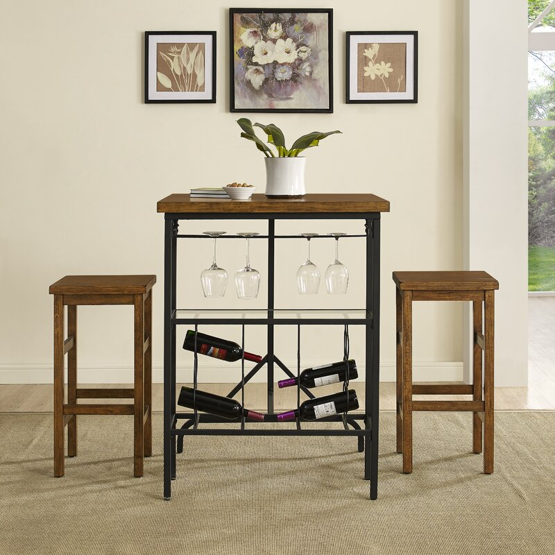Dining Room Sets On Clearance: Ordway 3 Piece Dining Set & Reviews
